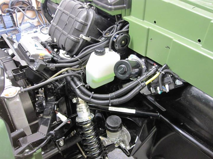 Electrical Work on Kawasaki