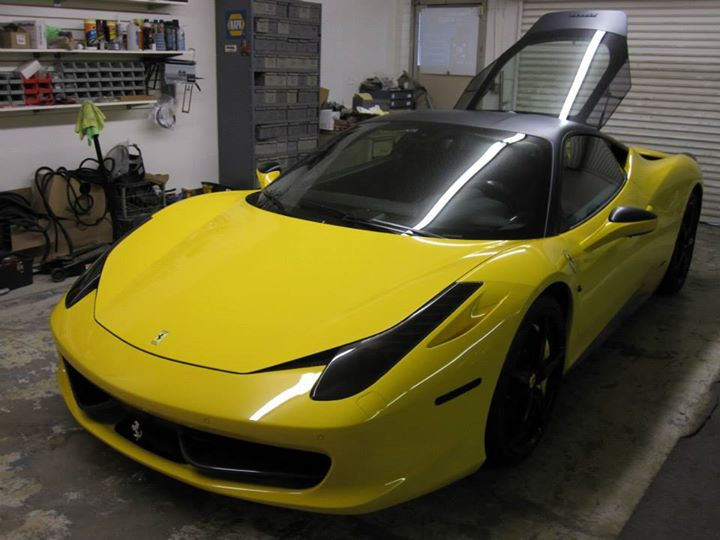 Ferrari Custom Lighting Installation