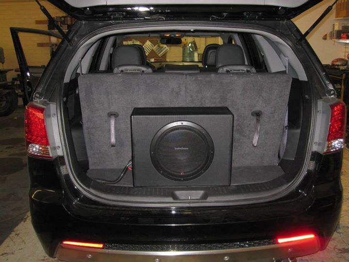 Kia Sportage Sub Addition